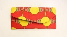 Handmade orange envelope Purse in style! 70's Style, 70s Fashion, Envelope, Wallet, Purses, Orange, Handmade, 70s Style, Handbags