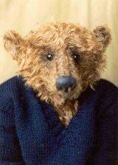Old Teddy Bears, Antique Teddy Bears, Love Bear, Big Bear, Bunny And Bear, Bear Photos, Old Toys, Felt Animals, Toys For Girls