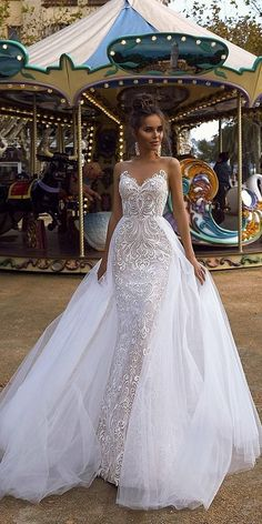 Designer Highlight: Tina Valerdi Wedding Dresses ❤️ If you want a really spe., Designer Highlight: Tina Valerdi Wedding Dresses ❤️ If you want a really special bridal gown, take a look at the new collection of Tina Valerdi weddin. Wedding Dress Trends, Sexy Wedding Dresses, Bridal Dresses, Wedding Gowns, Bridesmaid Dresses, 2 In 1 Wedding Dress, Event Dresses, Wedding Ceremony, Reception