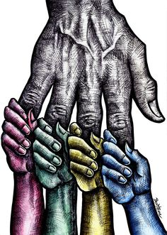 Solidarity by Ben Heine. ❣Julianne McPeters❣ no pin limits