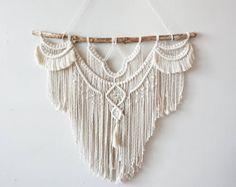 Medium Macrame Wall Hanging // tapestry // macrame decor //