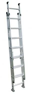 Capacity Extension Ladder at Lowe's. The aluminum extension ladders have a duty rating of 300 Lbs. and have extra heavy duty I-beam side rails. The base and fly sections separate Aluminium Ladder, Best Ladder, Fascia Board, I Beam, Extensions, Type, Ladders, Ebay