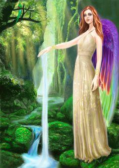 Archangel Ariel by Ekuta Makoto