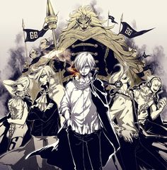 One Piece- Vinsmoke family
