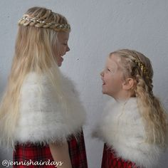 Christmas braids