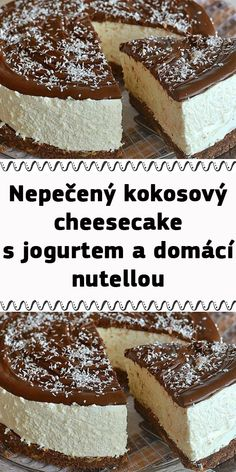 Cheesecake, Nutella, Tiramisu, Low Carb, Ethnic Recipes, Food, Decor, Essen, Decoration