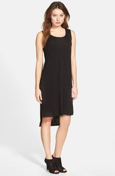 Eileen+Fisher+Scoop+Neck+Silk+Tank+Dress+(Regular+&+Petite)+available+at+#Nordstrom