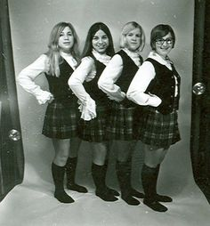 1971-1972 Alma College Kiltie Lassies :: Archival photographs