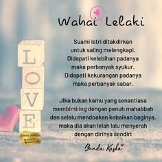 Pin by Rika Gunawan on Suami Islamic Quotes, Muslim Quotes, Islamic Inspirational Quotes, Quotes Lucu, Cinta Quotes, Baby Im Mutterleib, November Quotes, Best Quotes, Life Quotes