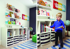 Hugo is a vibrant and curious 4-year-old with a strong point of view on what he likes. We set out to create a fun and unique room for him in our new home, letting him help with the design process in every step. We wanted him to feel creative and comfortable in the new house and by letting him have control over his own space, we knew he'd be right at home.