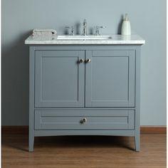 36 Vanity, Vanity Set With Mirror, Single Sink Bathroom Vanity, Modern Vanity, Vanity Cabinet, Vanity Units, Single Bathroom Vanity, Small Bathroom, Sink Vanity Unit
