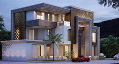 House Outer Design, Best Modern House Design, Modern Villa Design, Bungalow House Design, House Front Design, Small House Design, Architecture Building Design, Facade Design, Exterior Design