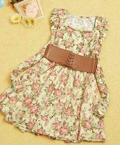 10) Vestido de día.