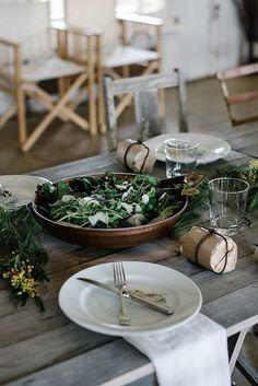 Simple Rustic Dining