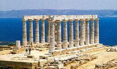 Poseidon temple Athens Greece