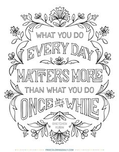 Amazon.com: The Happiness Project Mini Posters: A Coloring