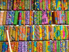 ghana fabric market - Google Search