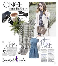 """""""Beautifulhalo     15"""" by nedim-848 ❤ liked on Polyvore featuring Whiteley, WithChic, Once Upon a Time, Nearly Natural and beautifulhalo"""