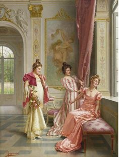 VITTORIO REGGIANINI THE COQUETTES' ADVENTURE 1858 - 1938 ITALIAN