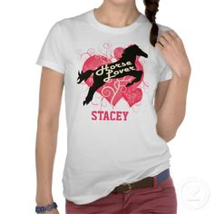 Horse Lover Personalized Stacey Customized Shirt