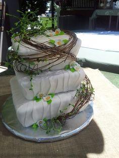 Makenzie wedding Cake