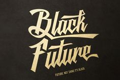 Black Future Typeface