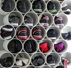 18 практичных идей для хранения обуви