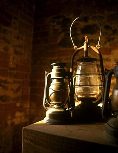 rusty & rustic & rural lanterns