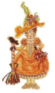 Penelope Pumpkin Witch