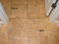 Homemade Grout Cleaner and Cleaning Grout