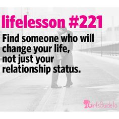 Little Life Lesson #221: That Someone   GirlsGuideTo