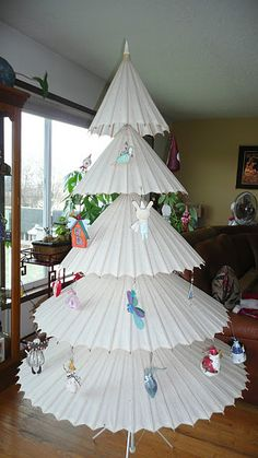 another clever holiday tree find this pin and more on christmas nontraditional