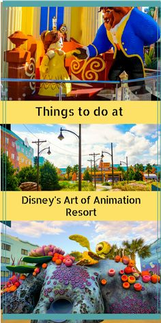 things to do at disney's art of animation resort | disney travel guide