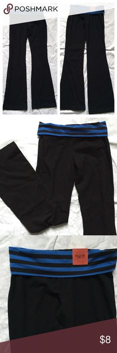 NWT MOSSIMO BLACK BOOTCUT WORKOUT PANTS SZ SMALL NWT MOSSIMO BLACK BOOTCUT YOGA  WORKOUT PANTS SZ SMALL Mossimo Supply Co. Pants