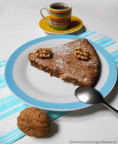 Gâteau aux noix du Périgord (végétalien)