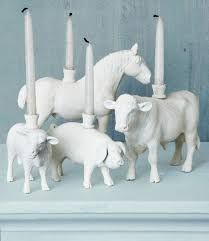 To show these plastic animals the light, we applied a technique featured on thesweetestoccasion.com.(Country Living)