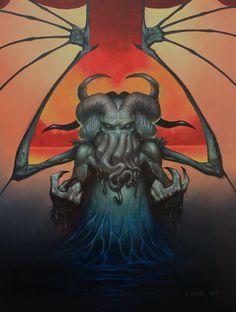 Cthulhu Rising by Dan-Harding.deviantart.com on @deviantART