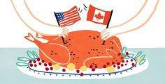 For Canadians, Thanksgiving Is a 'Quieter' Affair in October - The New York Times