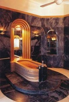 Art Nouveau and Art Deco, Maharaja Palace Art Deco Bathroom