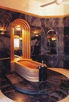 Art Nouveau and Art Deco, Maharaja Palace Art Deco Bathroom