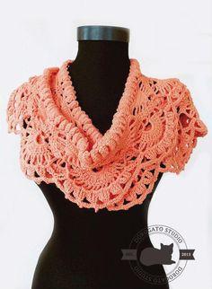 Crochet Scarf Pattern Crochet Lace Shawl Pattern Crochet