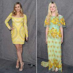 Critics' Choice Awards 2012: Elizabeth Olsen vs. Elle Fanning -- who wore yellow better?
