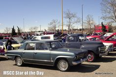 MSCC Nov 7 Star of the Day-Studebakers lurking around a car show-read more: http://mystarcollectorcar.com/mscc-november-2-star-of-the-day-69-satellite-they-werent-all-road-runner-and-gtx-optioned/ #Studebaker