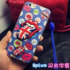 iPhone 6 Plus / 6S Plus Case Silicone case with long strip. Accessories Phone Cases
