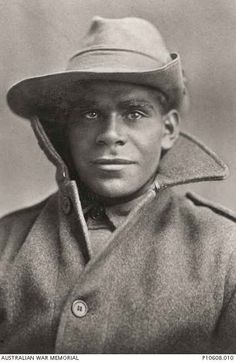 Miller Mack, an Indigenous Australian soldier of the first world war, from Point McLeay, South Australia.