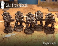Page 2 of 3 - The Iron Tenth - posted in + WORKS IN PROGRESS +: Looking good brother! Really liking the outrider biker!