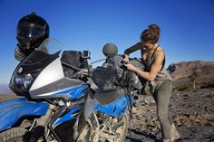Rosie Gabrielle biked solo across the Middle East and recorded her experience with her vlog- follow her on Youtube.
