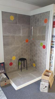 flaviker backstage Brick Walls, Deco, Backstage, Tile Floor, Bathrooms, Tiles, Sweet Home, Box, Inspiration