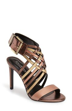 Charles by Charles David 'Isabel' Sandal (Women) Sock Shoes, Shoe Boots, Ankle Strap Shoes, Strap Sandals, Pumps Heels, Heeled Sandals, Shoes Sandals, Dream Shoes, Beautiful Shoes
