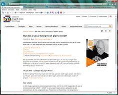 Nieuwspagina op cjgdenhaag.nl, 19 april 2016 Landelijke dag tegen Pesten   een van de opvoedvragen waar het CJG bij kan helpen   middelenmix samengesteld van nieuwspagina met diverse links naar al bestaande informatie, Facebook, Twitter, muurkrant   in afstemming met stoppestennu.nl